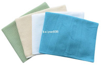 Wholesale 4PC cmx60cm Microfiber Waffle Weave Hair Drying Towel Dishtowel Micro Fiber Pet Towel Dries times Faster