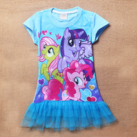 Wholesale - 2014 New My little pony Baby Girls TShirt Kids sh...