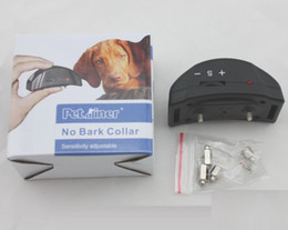Automatic Pet Products Dog Un Bark Collar Good Quality Training Device PET-852