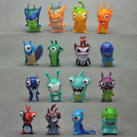 Wholesale Cute DIFFERENT SLUGTERRA CM ACTION FIGURES Pvc Toy Best Gift For Kids fors Kids best Christmas gift New