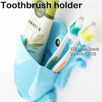 Cheap Bathroom Frog Toothbrush box Toothpaste holder Wall Zakka shelf Bath wall fixture Novelty household items TB8538
