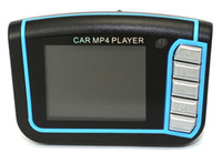 Wholesale hotsale New LCD Car MP3 MP4 quot Player FM Transmitter SD MMC enjoy music in your car use TF card goodbiz