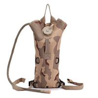 canvas water bag - Tactics Men Camping Military Tactical Gym Bag Canvas Campus Travel Sport Backpack Camel With Water Bladder BP032