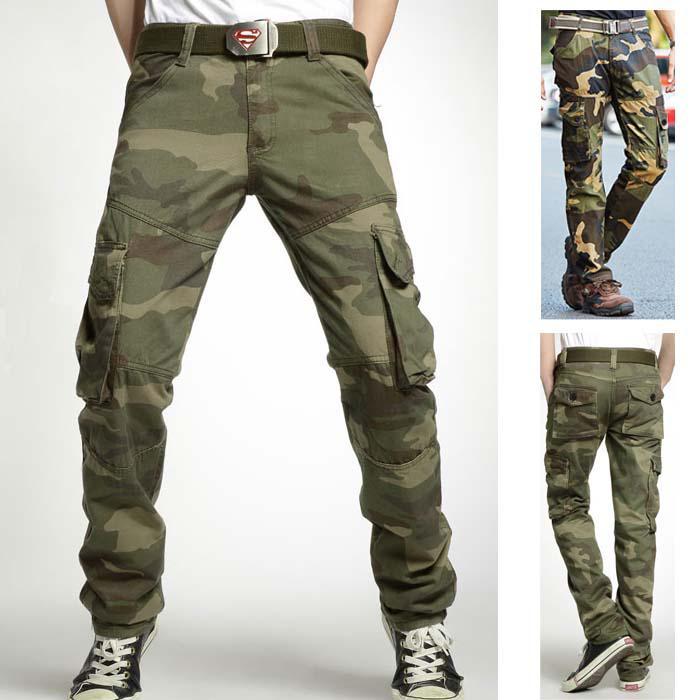 2017 Tactical Cargo Pants Men Casual Swat Combat Training Multi ...