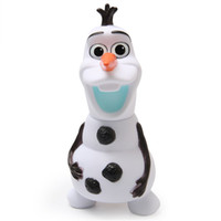Wholesale - dolls olaf 6. 7inch musical Piggy bank Saving Coi...