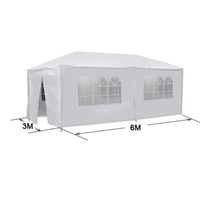 Wholesale US Ship White Outdoor Canopy Party Wedding Tent Gazebo Pavilion Cater Events