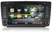 Wholesale Car DVD player with GPS navigation with Bluetooth DTV MP3 MP4 iPOD Radio Touch screen with RADIO AND RDS