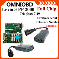 Wholesale Best Full Chip Serial C Lexia3 Lexia V48 PP2000 V25 Diagbox Lexia Citroen Peugeot Diagnostic Tool Psa