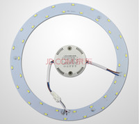 Cheap Wholesale-High Lumens 5W 12W 15W 18W SMD 5730 Ceiling Circular Magnetic Light Lamp 180-265V AC220V Round Ring LED Panel board with Magnet