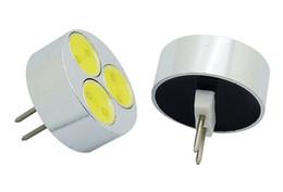 3W G4 COB SMD LED Bulb Warm White   White Led Car Boat Spot Light Lamp AC DC 12V 5pcs lot
