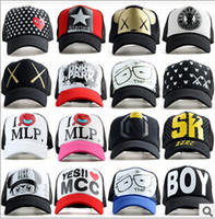 Wholesale Fashion Mixed Adjustable Snapback cap Snapbacks Baseball Caps Hats Hip Hop Men Women Caps sports hat Sunhat adjustable Trucker Hat hot sale