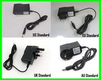 bicycle lights uk - 8 V Plug Charger For T6 LED Bicycle Light HeadLight Headlamp Battery Pack Charger US EU UK AU
