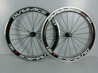 Road Bikes Carbon 700C 2014 hot road bike wheelset DURA ACE C50 50mm with NOVATEC 271 hubs alloy brake carbon bike wheelssupport 9 10 11 speed clincher or tubular