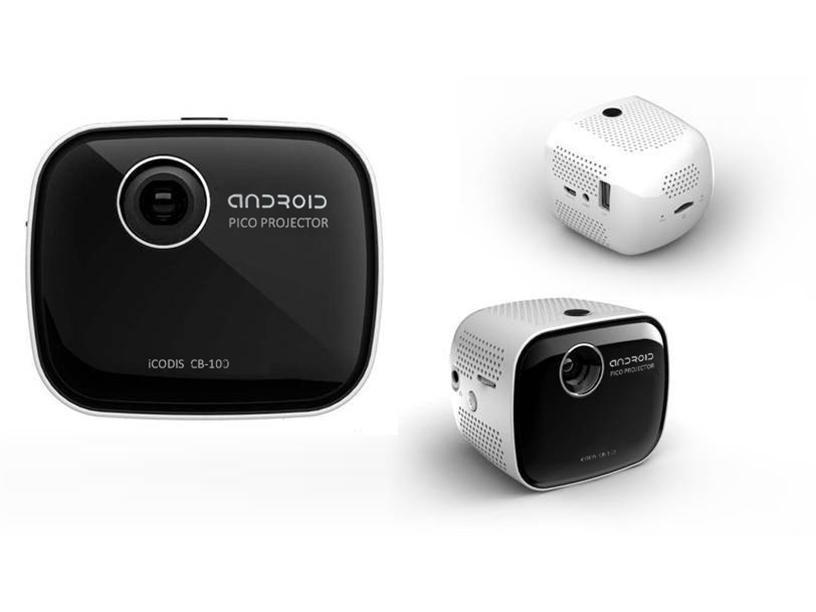 Android smart tabletop projectors mini wifi android for Best android mini projector