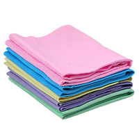 Wholesale car towel R large bag embossed Chamois Cache towels wash towels multipurpose synthetic chamois towel wash towels