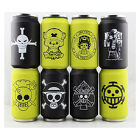 Wholesale 30pcs Cartoon Anime movie my neighbor totoro One Piece Attack on Titan EVA Stainless steel cup fashion mug HL