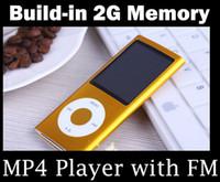 Wholesale Portable MP3 MP4 Player Build in GB Memory support Music Video Photo E Book FM Record USB
