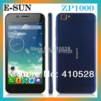 """Cheap Wholesale - original ZOPO ZP1000 5.0""""IPS MTK6592 Octa Core Phone 1.7GHz Android 4.2 OS 1GB+16GB 14MP 3G GPS OTG mobile Phone"""