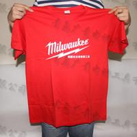Wholesale Milwaukee Woqi short sleeved T shirt business Woqi limited edition t shirts round neck t shirts