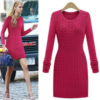Cheap Chunky Knit Dress | Free Shipping Chunky Knit Dress under ...