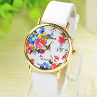 Wholesale New Fashion brand Rose Flower Watches Women Dress Watch stylish women casual watch Quartz Watches orologio da polso
