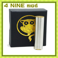 Wholesale New arrival nine mod full mechanical mod nine mods clone VS Stainless Steel Brass fit battery advance gift box