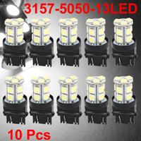 White car led brake light - Car SMD White LED Brake Parking Tail Light Bulbs