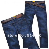basic style jeans - Retail Classic Basic Style Cotton Jeans Man Casual Trousers Size