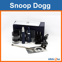 Silicone EGO Base 14mm 7g Snoop Dogg G Pen Dry Herb Vaporizer Snoop Dog Electronic Cigarette Clone Gift Box Kit Free FedEx