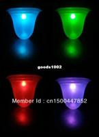 Cheap New Free Shipping (4 Pieces lot) Solar Garden Light RGB Color lamp , Solar lawn lamps Solar street light