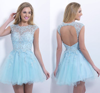 Where to Buy Baby Blue Homecoming Dresses Online? Where Can I Buy ...