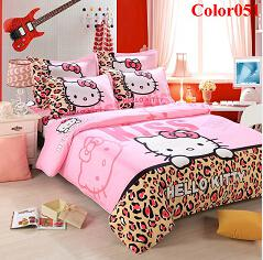 Wholesale Never miss New style home textiles bedding supplies comforter set bed in a bag bedding sets Animated cartoon series bedding sets