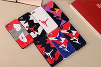 3D Air Jordan Sports Shoe Sole Rubber Plastic Case for iPhon...