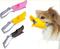 Wholesale 500pcs pet duck mouth set wildanmial trap dog training equipment duckbilled dog muzzle anti bite mask Pet products