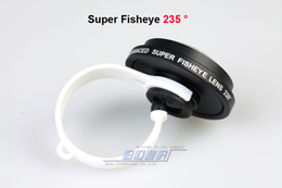 50pcs Smartphone mobile phone lens Circle Clip 235 degree super fisheye lens