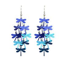 Wholesale Kayshine Jewelry Bohemian Style Coorful Butterfly Shape Drop Dangle Earrings