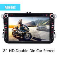 Wholesale 8 quot WIFI G HD Car Dvd Player Capacitive Screen Android Double Din Car Stereo
