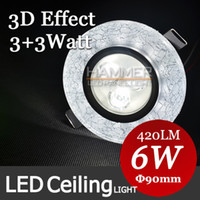 Cheap LED color ceiling light Best 110V Surface mounted 3d ceiling light