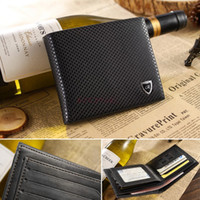 Wholesale Male Dot Pattern Genuine Leather Holder Money Clips Wallet Purse For Men SV000209