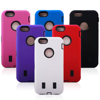 Silicone Plus Robot Armor ShockProof Case Cover for iPhone 6...