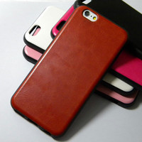 leather material - 10pcs case for iphone inch leather luxurious supper protect TPU soft mix material case cover