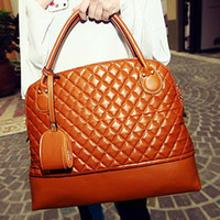Wholesale Fashion Women s Totes Bags Shoulder Bag Quilted Plaid Office HandBags Brand Designer