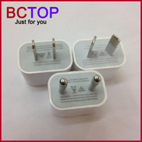 Wholesale 5V A iPhone US EU AU Plug Home Wall Charger AC Travel USB Adapter for iPhone S S Samsung Galaxy S5 S4 S3 Note4 HTC iPad Air iPad