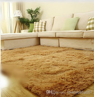 Wholesale Factory Supply Custom made Nanofibers Winter Carpet Warm Washable Bedroom Carpet color