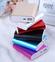 Wholesale xiaomi mAh battery charger large capacity portable cell phone USB charge power bank for iphone Samsung HTC xiaomi DHL