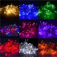 Wholesale Limited Time Discount Christmas LED String Light colors M LED Xmas Led Christmas Wedding Party Decoration Lights V V