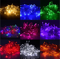 ac colors - New Good Quality Christmas LED String Light colors M LED Xmas Led Christmas Wedding Party Decoration Lights V V