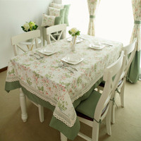 Wholesale Europe Pastoral table cloth and table runner High Quality table cover Dinning Chair Tablecloth Western Table Runner Decoration