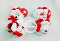 Wholesale Christmas Decorations cm Christmas Eve Christmas ornaments Christmas decoration toy snowman old antlers pat circle wrist