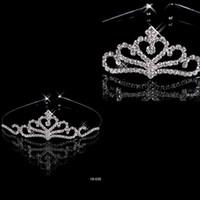 Wholesale 2015 Popular Hot Seller Twinkling Hair Accessories Comb Crystal Rhinestone Bridal Wedding Tiara in Stock